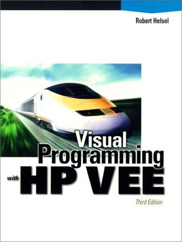 Visual programming with HP VEE