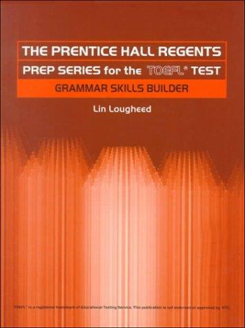 Prentice Hall Regents Prep Series for the TOEFL Test