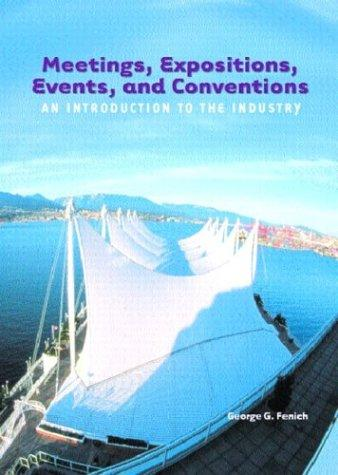Meetings, expositions, events, and conventions