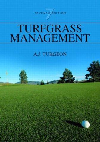Turfgrass Management (7th Edition)