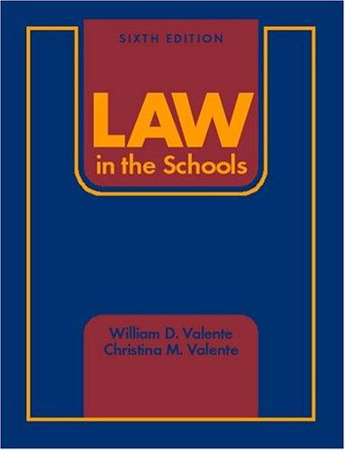 Law in the schools