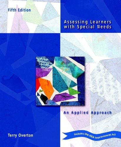 Download Assessing Learners with Special Needs