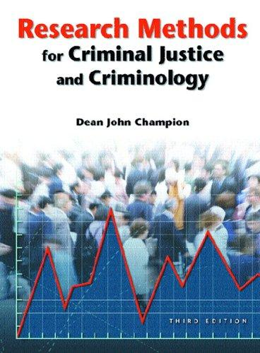 Download Research Methods for Criminal Justice and Criminology (3rd Edition)