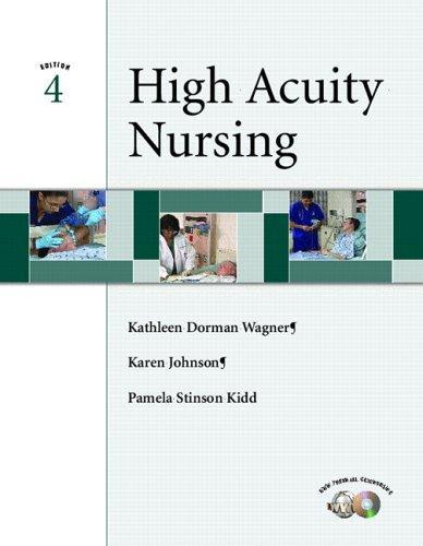 High Acuity Nursing (4th Edition)
