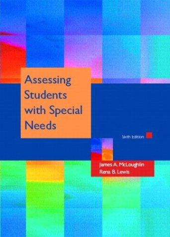 Download Assessing students with special needs