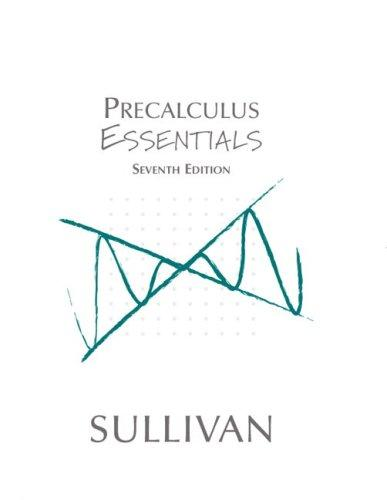 Download Precalculus essentials