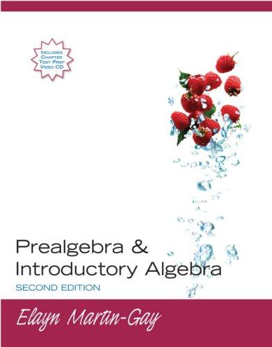 Prealgebra & Introductory Algebra (2nd Edition)