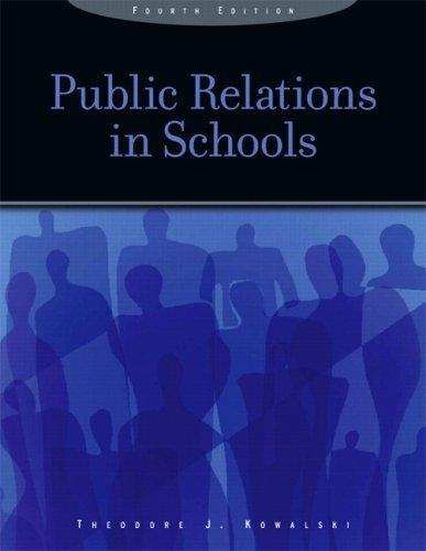 Download Public Relations in Schools (4th Edition)