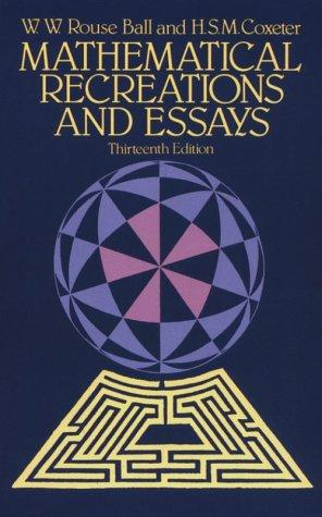 Download Mathematical recreations and essays