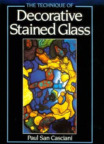 Download The technique of decorative stained glass