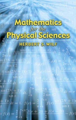 Download Mathematics for the physical sciences