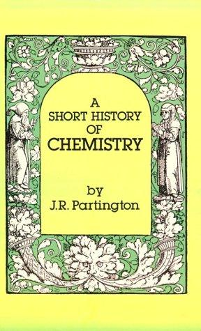 Download A short history of chemistry