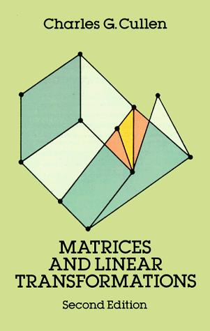 Download Matrices and linear transformations