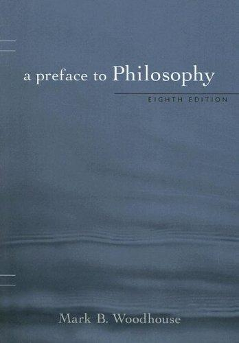 Download A Preface to Philosophy