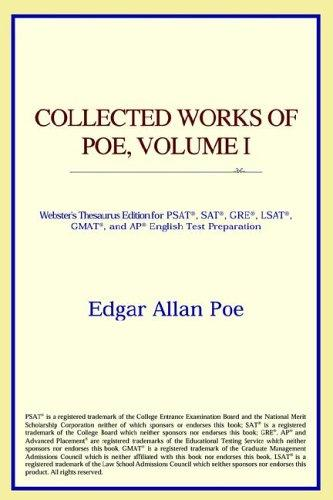 Download Collected Works of Poe, Volume I (Webster's Thesaurus Edition)
