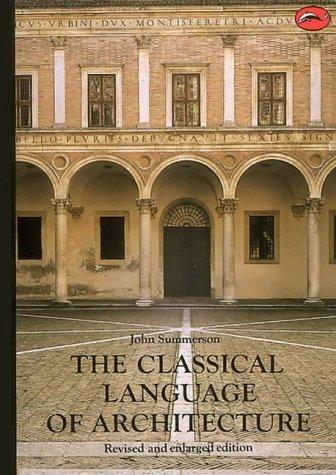 Download The classical language of architecture