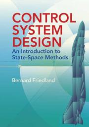 Control System Design: An Introduction To State-Space Methods PDF Download