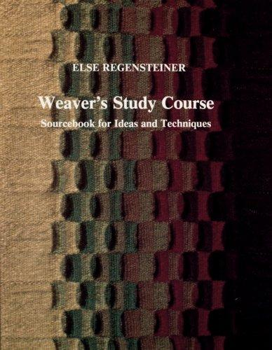 Image for Weaver's Study Course: Sourcebook for Ideas and Techniques
