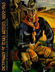 Dictionary Of Texas Artists PDF Download
