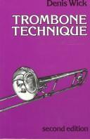 Download Trombone technique