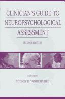 Download Clinician's Guide To Neuropsychological Assessment