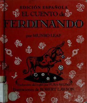 Cover of: Cuento de Ferdinando, El | Munro Leaf