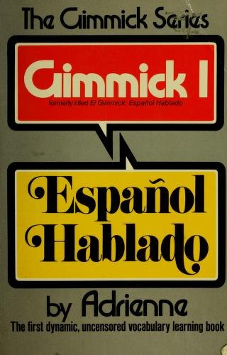 Cover of: El gimmick | Adrienne.