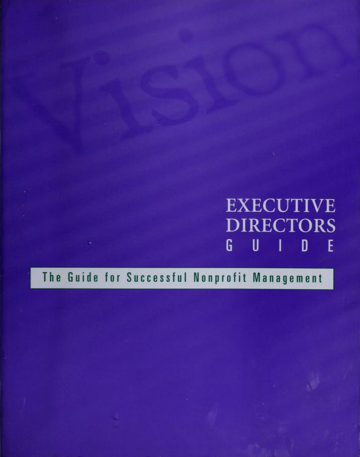 Executive directors guide by Deborah Linnell