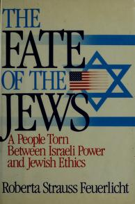 Cover of: The fate of the Jews | Roberta Strauss Feuerlicht
