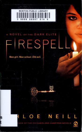 Cover of: Firespell | Chloe Neill
