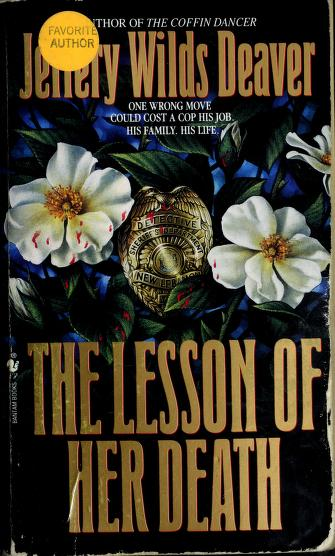 Cover of: The lesson of her death   Jeffery Deaver