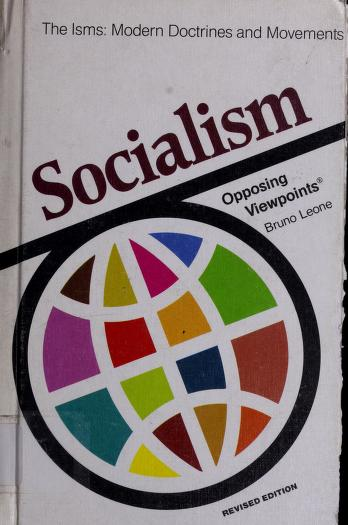 Cover of: Socialism | [edited by] Bruno Leone.