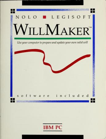 Cover of: WillMaker  | Access to Law