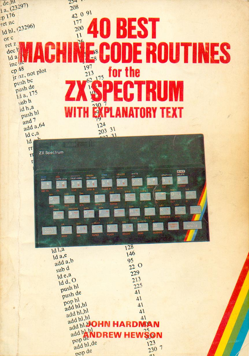 40 Best Machine Code Routines for the ZX Spectrum image, screenshot or loading screen