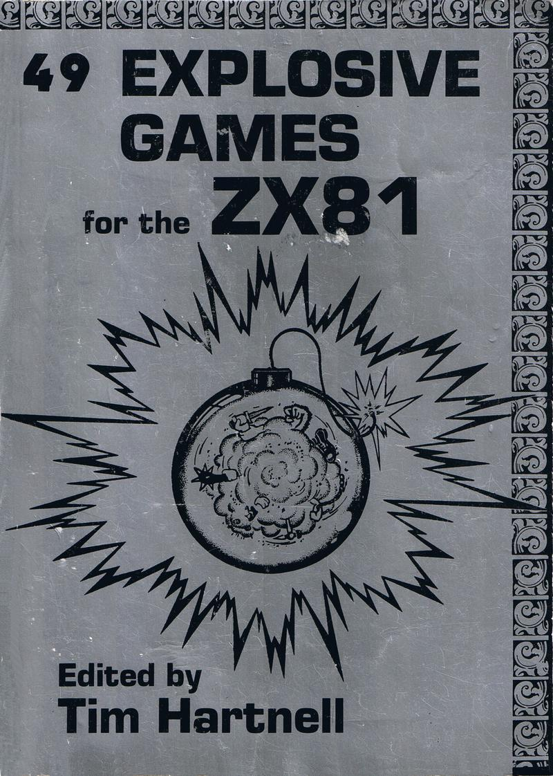 49 Explosive Games for the ZX81 image, screenshot or loading screen