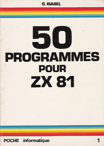 50 Programmes pour ZX81 image, screenshot or loading screen