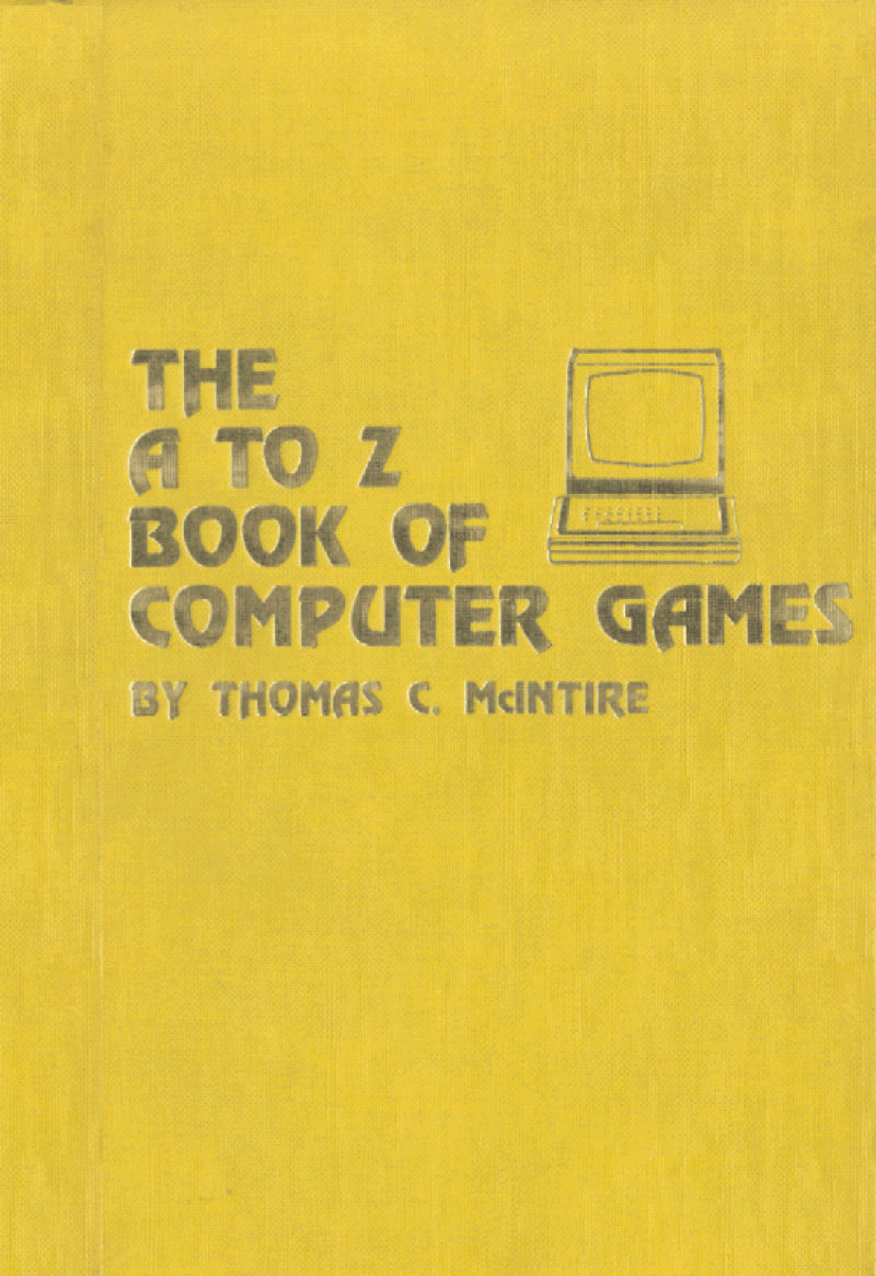The A to Z Book of Computer Games image, screenshot or loading screen