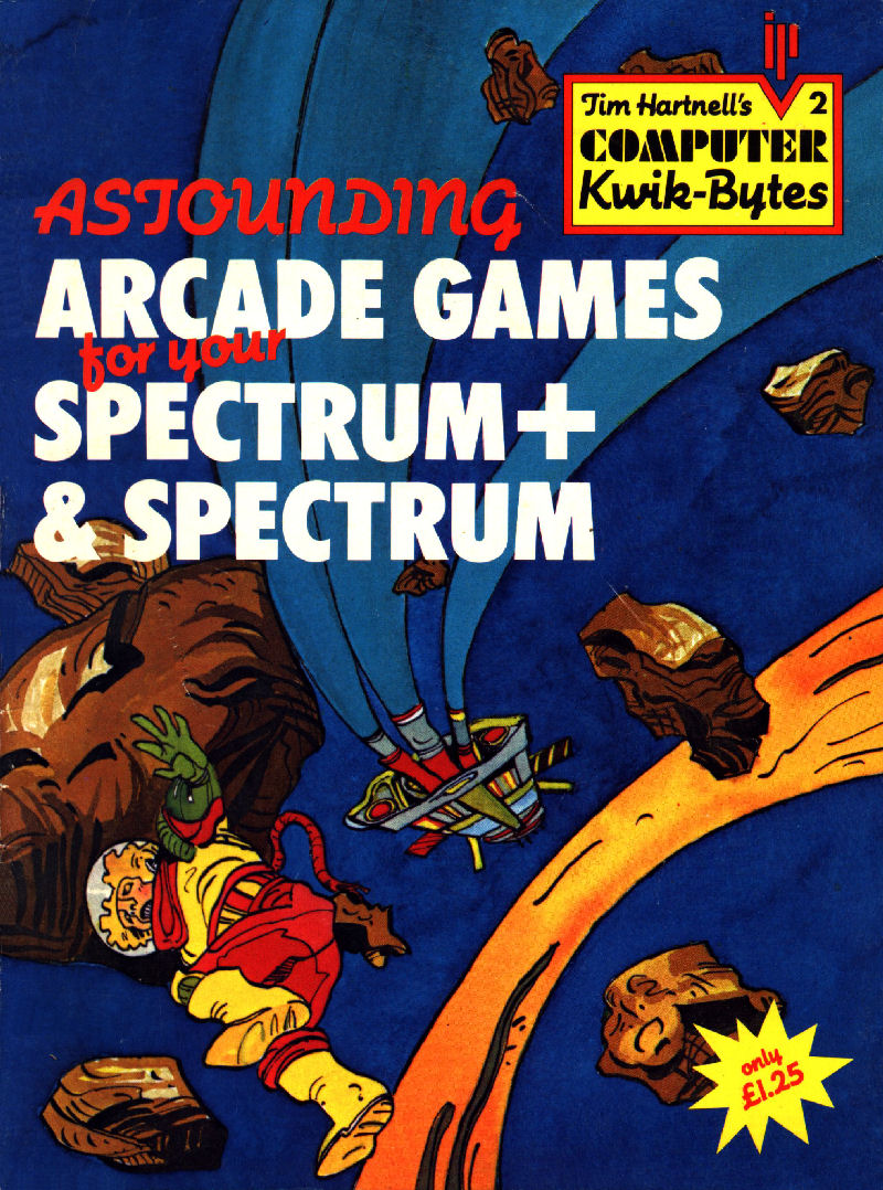 Astounding Arcade Games for Your Spectrum+ & Spectrum screenshot