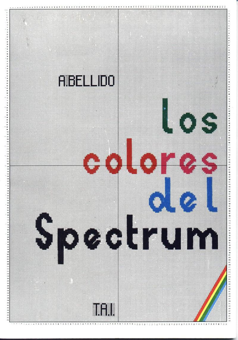 Los Colores del Spectrum image, screenshot or loading screen
