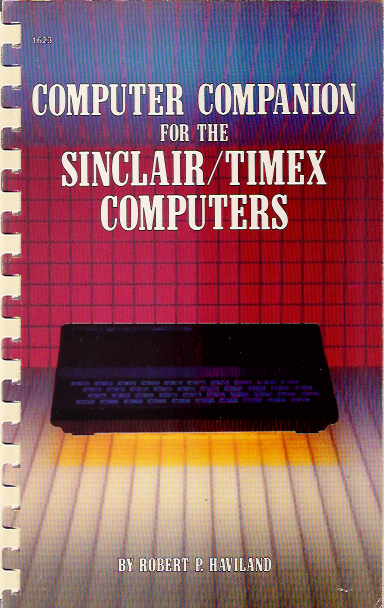 Computer Companion for the Sinclair/Timex Computers image, screenshot or loading screen
