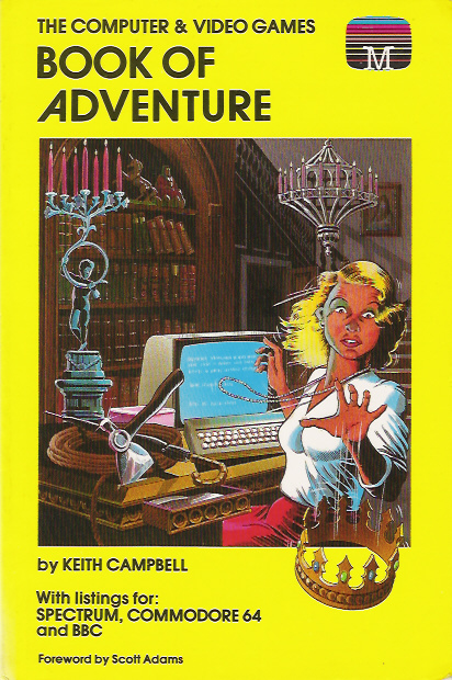 The Computer & Video Games Book of Adventure image, screenshot or loading screen