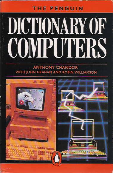 A Dictionary of Computers screen