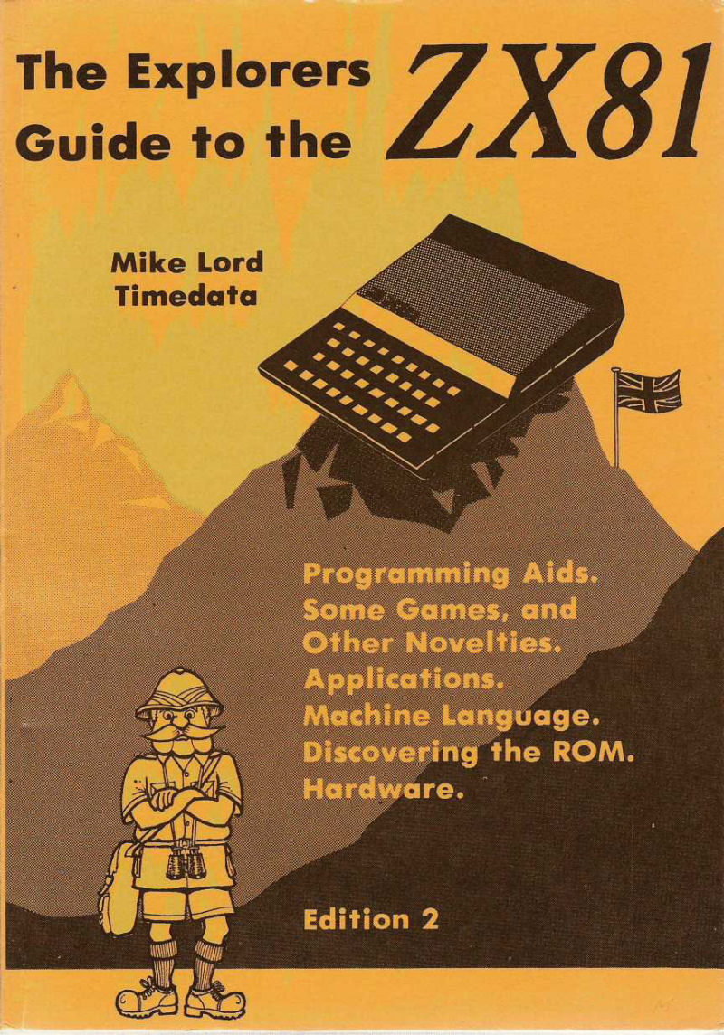 The Explorers Guide to the ZX81 image, screenshot or loading screen