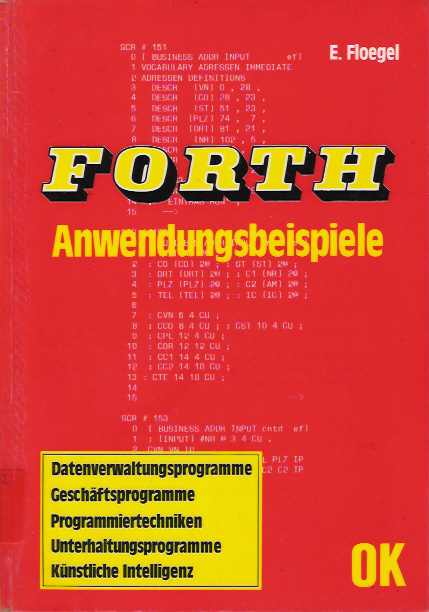 FORTH Adwendungsbeispiele screen