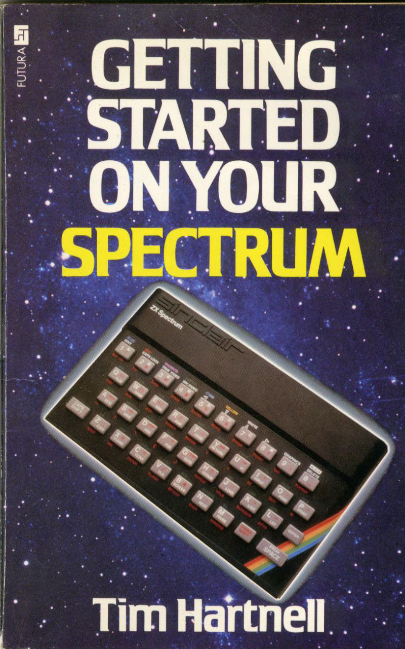 Getting Started on Your Spectrum screen