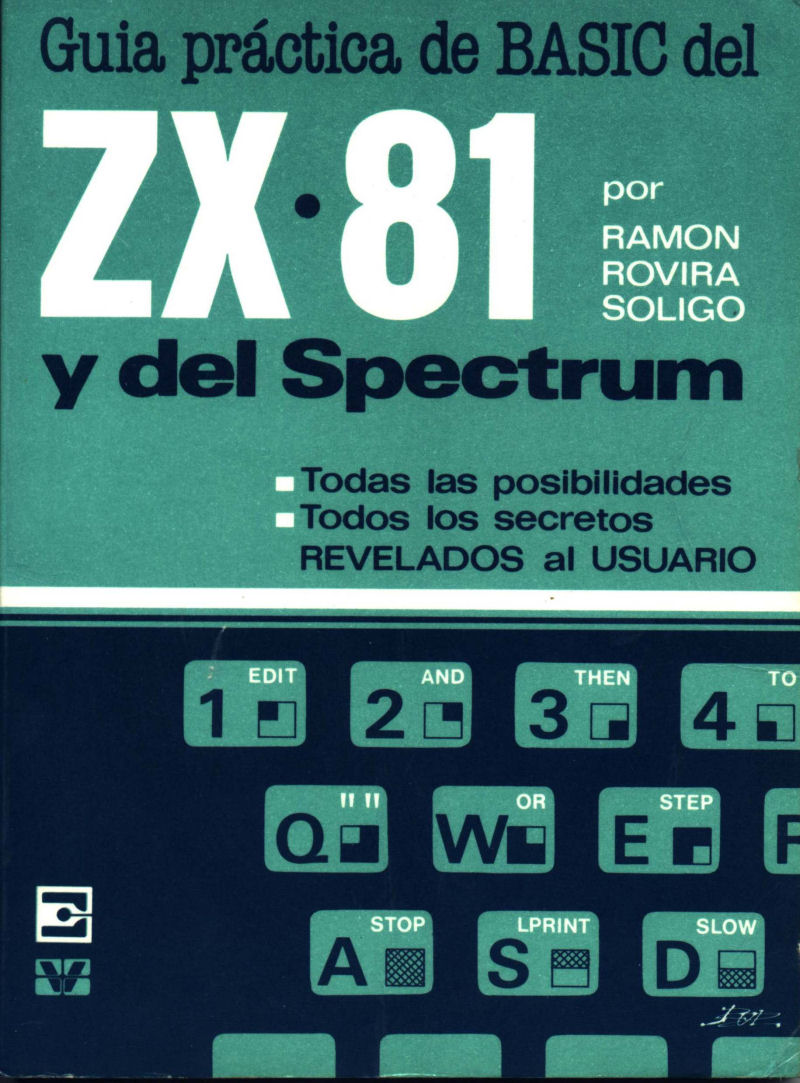 Guia Practica de BASIC del ZX81 y del Spectrum screen