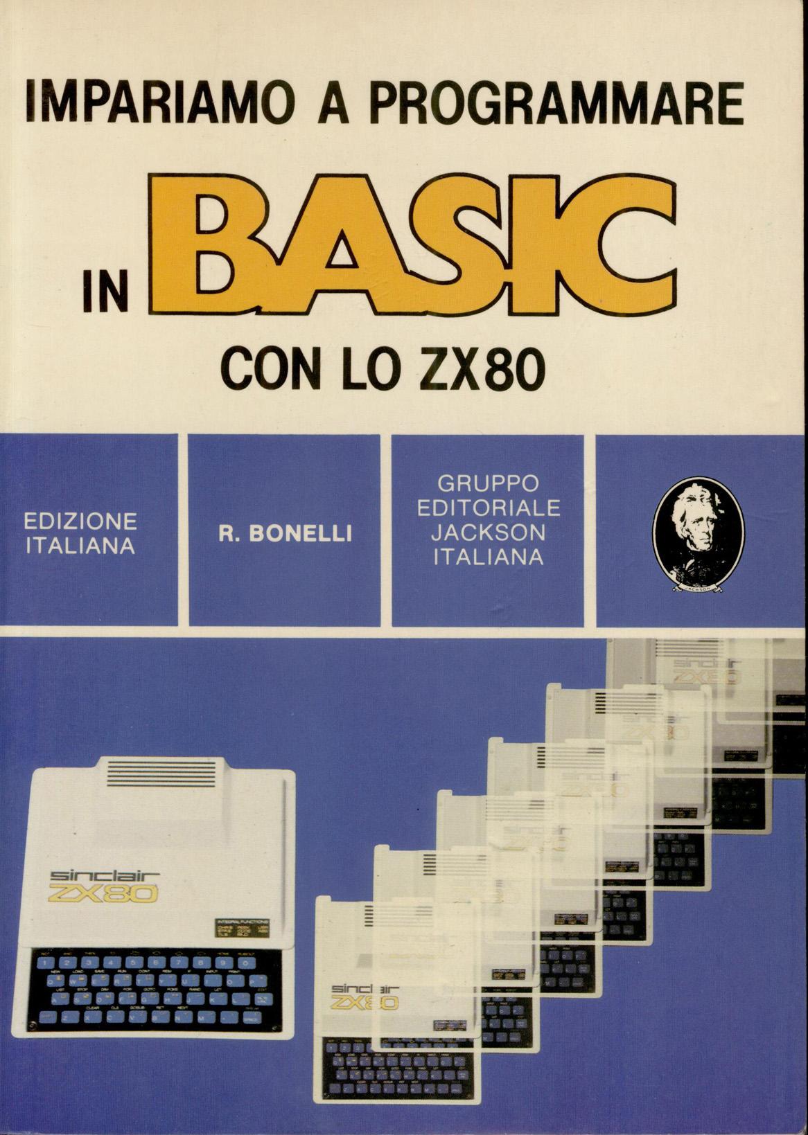Impariamo a Programmare in BASIC con lo ZX80 image, screenshot or loading screen