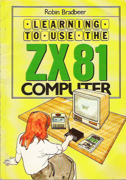 Learning to Use the ZX81 Computer screen