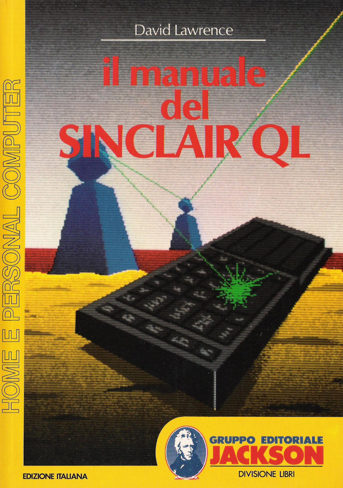 Il Manuale del Sinclair QL image, screenshot or loading screen