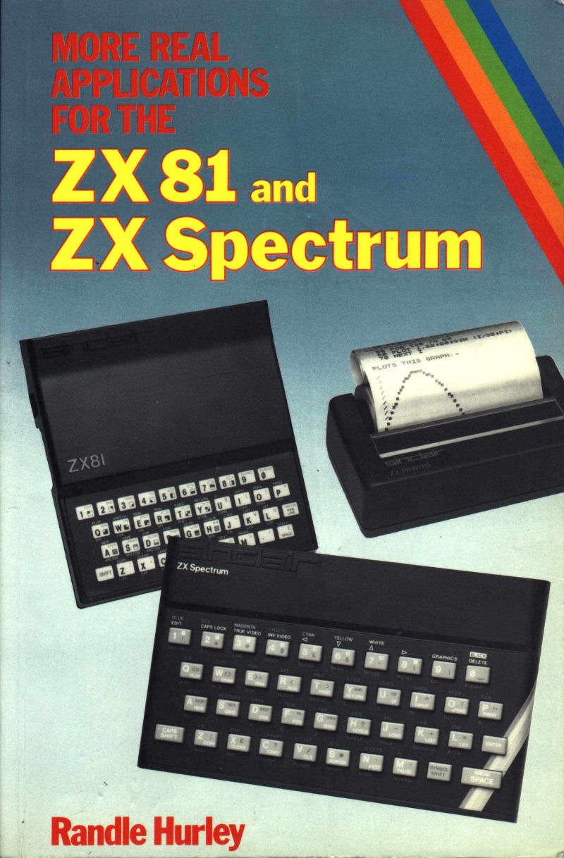 More Real Applications for the ZX81 and ZX Spectrum image, screenshot or loading screen